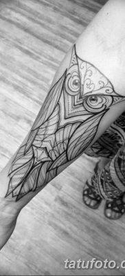 фото тату сова для девушек от 19.02.2018 №022 – owl tattoo for girls – tatufoto.com