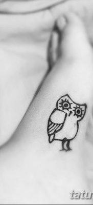фото тату сова для девушек от 19.02.2018 №045 – owl tattoo for girls – tatufoto.com