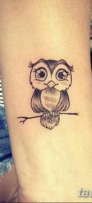 фото тату сова для девушек от 19.02.2018 №071 – owl tattoo for girls – tatufoto.com