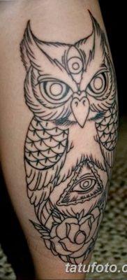 фото тату сова для девушек от 19.02.2018 №077 – owl tattoo for girls – tatufoto.com