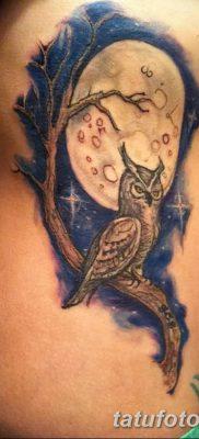 фото тату сова для девушек от 19.02.2018 №078 – owl tattoo for girls – tatufoto.com