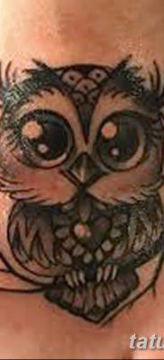 фото тату сова для девушек от 19.02.2018 №080 – owl tattoo for girls – tatufoto.com