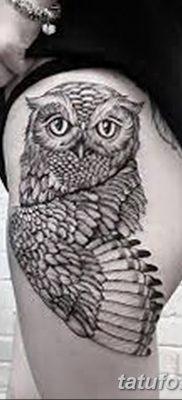 фото тату сова для девушек от 19.02.2018 №089 – owl tattoo for girls – tatufoto.com