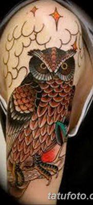 фото тату сова для девушек от 19.02.2018 №091 – owl tattoo for girls – tatufoto.com