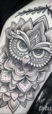 фото тату сова для девушек от 19.02.2018 №092 – owl tattoo for girls – tatufoto.com
