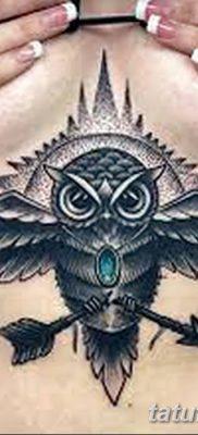 фото тату сова для девушек от 19.02.2018 №093 – owl tattoo for girls – tatufoto.com