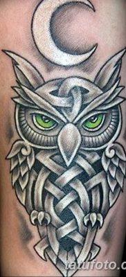 фото тату сова для девушек от 19.02.2018 №133 – owl tattoo for girls – tatufoto.com