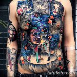 фото тату сюрреализм от 10.02.2018 №042 - Tattoo ornamental - tatufoto.com
