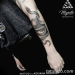 фото тату сюрреализм от 10.02.2018 №181 - Tattoo ornamental - tatufoto.com