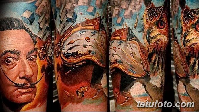 фото тату сюрреализм от 10.02.2018 №209 - Tattoo ornamental - tatufoto.com