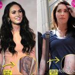 фото Тату Меган Фокс от 16.03.2018 №010 - Megan Fox Tattoo - tatufoto.com
