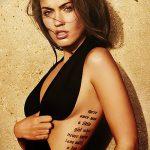 фото Тату Меган Фокс от 16.03.2018 №023 - Megan Fox Tattoo - tatufoto.com