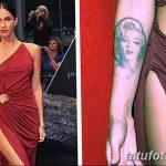 фото Тату Меган Фокс от 16.03.2018 №032 - Megan Fox Tattoo - tatufoto.com
