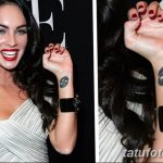 фото Тату Меган Фокс от 16.03.2018 №041 - Megan Fox Tattoo - tatufoto.com 37345