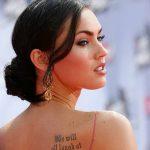 фото Тату Меган Фокс от 16.03.2018 №050 - Megan Fox Tattoo - tatufoto.com