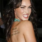 фото Тату Меган Фокс от 16.03.2018 №052 - Megan Fox Tattoo - tatufoto.com