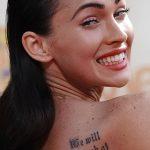 фото Тату Меган Фокс от 16.03.2018 №056 - Megan Fox Tattoo - tatufoto.com