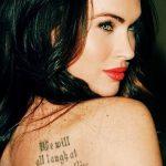 фото Тату Меган Фокс от 16.03.2018 №063 - Megan Fox Tattoo - tatufoto.com