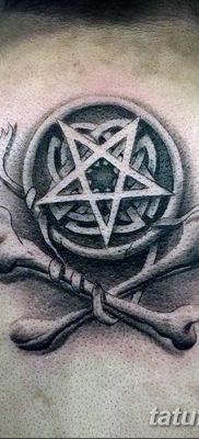 фото тату Пятиконечная звезда от 23.03.2018 №002 – tattoo Five-pointed star – tatufoto.com