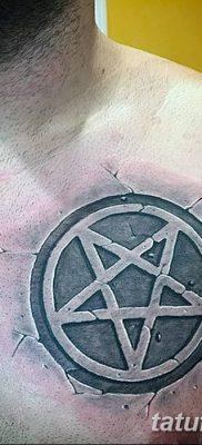 фото тату Пятиконечная звезда от 23.03.2018 №003 – tattoo Five-pointed star – tatufoto.com