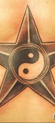 фото тату Пятиконечная звезда от 23.03.2018 №011 – tattoo Five-pointed star – tatufoto.com