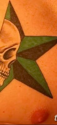 фото тату Пятиконечная звезда от 23.03.2018 №012 – tattoo Five-pointed star – tatufoto.com