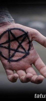 фото тату Пятиконечная звезда от 23.03.2018 №022 – tattoo Five-pointed star – tatufoto.com