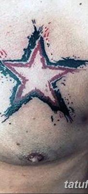 фото тату Пятиконечная звезда от 23.03.2018 №023 – tattoo Five-pointed star – tatufoto.com