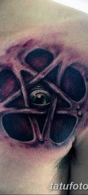 фото тату Пятиконечная звезда от 23.03.2018 №028 – tattoo Five-pointed star – tatufoto.com
