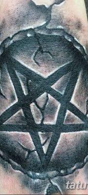 фото тату Пятиконечная звезда от 23.03.2018 №030 – tattoo Five-pointed star – tatufoto.com
