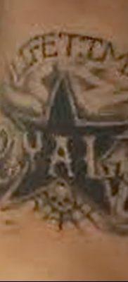 фото тату Пятиконечная звезда от 23.03.2018 №032 – tattoo Five-pointed star – tatufoto.com