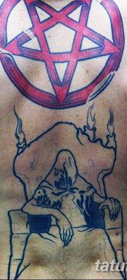 фото тату Пятиконечная звезда от 23.03.2018 №039 – tattoo Five-pointed star – tatufoto.com