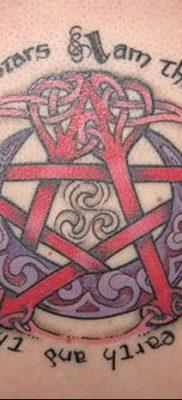 фото тату Пятиконечная звезда от 23.03.2018 №042 – tattoo Five-pointed star – tatufoto.com