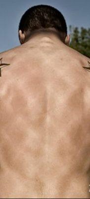 фото тату Пятиконечная звезда от 23.03.2018 №045 – tattoo Five-pointed star – tatufoto.com