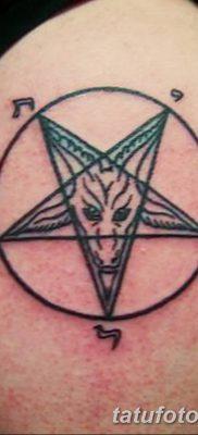 фото тату Пятиконечная звезда от 23.03.2018 №050 – tattoo Five-pointed star – tatufoto.com