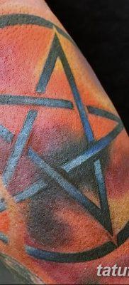 фото тату Пятиконечная звезда от 23.03.2018 №054 – tattoo Five-pointed star – tatufoto.com