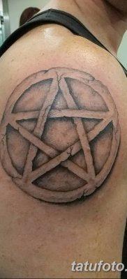 фото тату Пятиконечная звезда от 23.03.2018 №056 – tattoo Five-pointed star – tatufoto.com