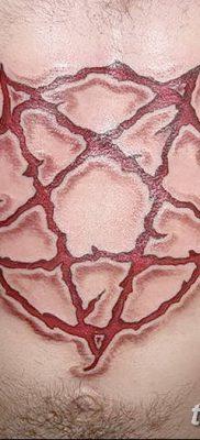 фото тату Пятиконечная звезда от 23.03.2018 №060 – tattoo Five-pointed star – tatufoto.com
