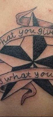 фото тату Пятиконечная звезда от 23.03.2018 №066 – tattoo Five-pointed star – tatufoto.com