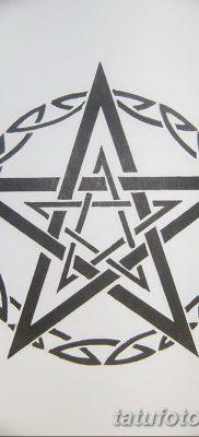 фото тату Пятиконечная звезда от 23.03.2018 №077 – tattoo Five-pointed star – tatufoto.com