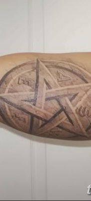 фото тату Пятиконечная звезда от 23.03.2018 №079 – tattoo Five-pointed star – tatufoto.com