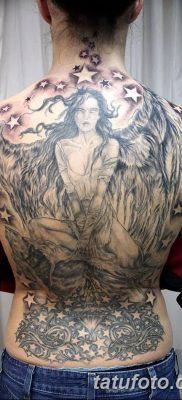 фото тату ангел с крыльями от 07.03.2018 №002 – angel tattoo with wings – tatufoto.com
