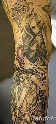 фото тату ангел с крыльями от 07.03.2018 №010 – angel tattoo with wings – tatufoto.com