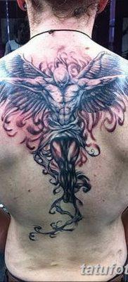 фото тату ангел с крыльями от 07.03.2018 №013 – angel tattoo with wings – tatufoto.com