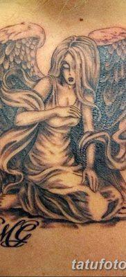 фото тату ангел с крыльями от 07.03.2018 №016 – angel tattoo with wings – tatufoto.com