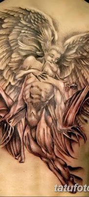 фото тату ангел с крыльями от 07.03.2018 №017 – angel tattoo with wings – tatufoto.com