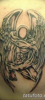 фото тату ангел с крыльями от 07.03.2018 №019 – angel tattoo with wings – tatufoto.com