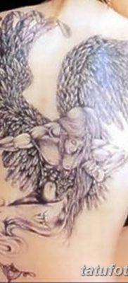 фото тату ангел с крыльями от 07.03.2018 №020 – angel tattoo with wings – tatufoto.com