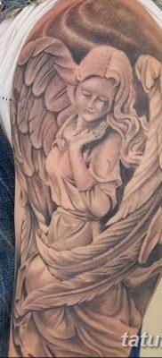фото тату ангел с крыльями от 07.03.2018 №025 – angel tattoo with wings – tatufoto.com