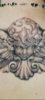 фото тату ангел с крыльями от 07.03.2018 №026 – angel tattoo with wings – tatufoto.com